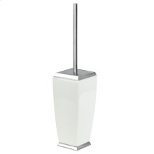 SPECIAL ORDER Floor standing brush holder in ceramic
