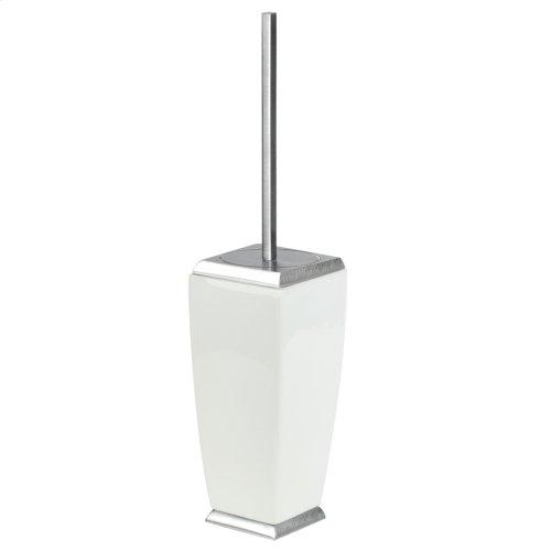 SPECIAL ORDER Floor standing brush holder in ceramic