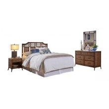 Palm Island 4 PC Queen Bedroom Set