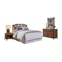 Palm Island 4 PC Queen Bedroom Set