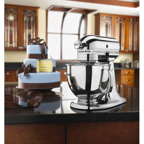Custom Metallic® Series 5 Quart Tilt-Head Stand Mixer - Chrome