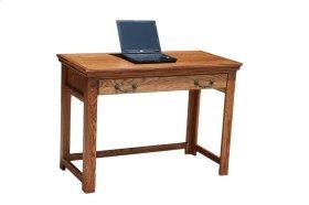 """O-T354 Traditional Oak 42"""" Laptop Desk"""