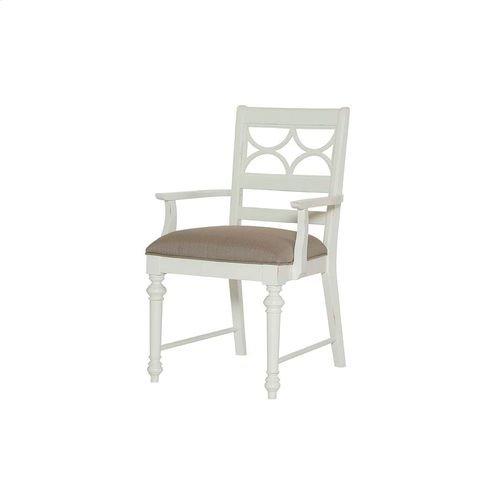 Lynn Haven Fret Work Arm Chair-Kd