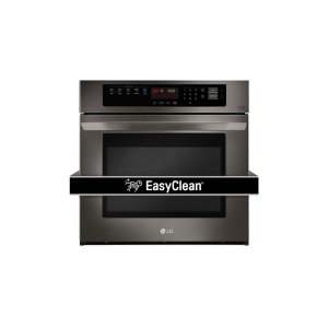 LG AppliancesLG Black Stainless Steel Series 4.7 cu. ft. Built-In Single Wall Oven