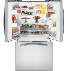 GE Profile™ 25.1 Cu. Ft. French Door Refrigerator with External Dispenser