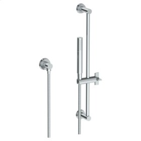 "Positioning Bar Shower Kit With Slim Hand Shower and 69"" Hose"