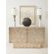 Revival Fluted Hall Chest - Sunrise
