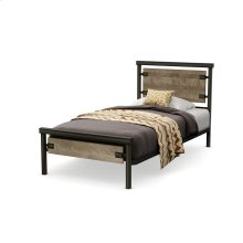 Timber Regular Footboard Bed (birch) - Kid