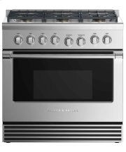 "Dual Fuel Range 36"", 6 Burners (LPG) Product Image"