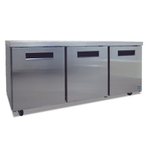 HoshizakiRefrigerator, Three Section Undercounter