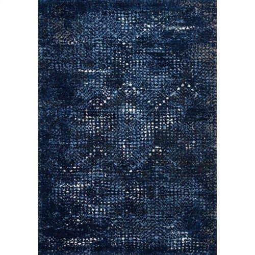 Dark Blue / Light Blue Rug