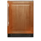 24 Inch Overlay Solid Door Dual Zone Wine Cabinet - Left Hinge Overlay Solid Product Image