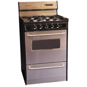 "Brown24"" Free Standing Gas Range"