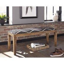 Bohemian Upholstered Bench