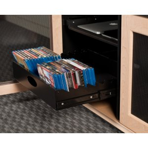 Salamander DesignsSynergy Media Tray 2, Black