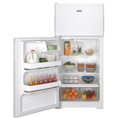 Hotpoint® 14.6 Cu. Ft. Recessed Handle Top-Freezer Refrigerator