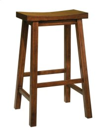 """""""Honey Brown"""" Bar Stool, 29"""" Seat Height - overpacked"""