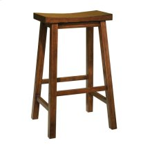"""Honey Brown"" Bar Stool, 29"" Seat Height - overpacked"
