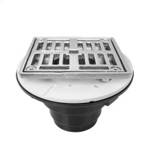 """4"""" Square ABS Shower Drain"""