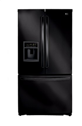 3-Door French Door Refrigerator with Ice and Water Dispenser (24.7 Cu.Ft.)