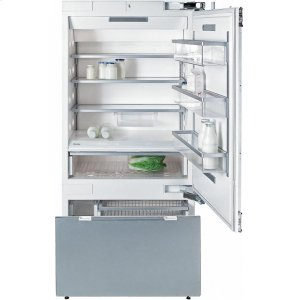 MieleKF 1903 SF MasterCool fridge-freezer with maximum storage space and high-quality features for exacting demands.