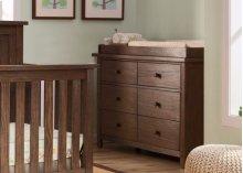 Northbrook 6 Drawer Dresser - Rustic Oak (229)