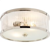 Visual Comfort AH4201PN-FG Alexa Hampton Randolph 2 Light 14 inch Polished Nickel Flush Mount Ceiling Light
