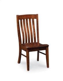 Bradford Side Chair, Bradford Side Chair, Wood Seat
