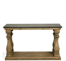 Ashton Table Base 29 lbs Reclaimed Natural Pine/Bluestone finish