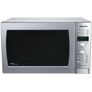 PANASONIC1.5 Cu. Ft. Convection Built-In/Countertop Microwave Oven with Inverter Technology - Stainless Steel - NN-CD989S