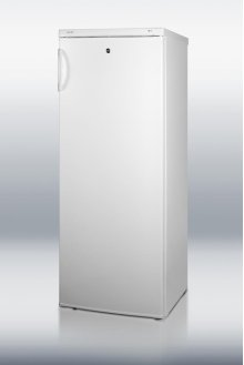 Upright all-freezer with 6.4 cu.ft. capacity, front lock, and pull-out basket drawers; Matches all-refrigerator FFAR9L