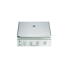 """Discovery 36"""" Outdoor Grill, in Stainless Steel with Chrome Trim, for use with Liquid Propane"""