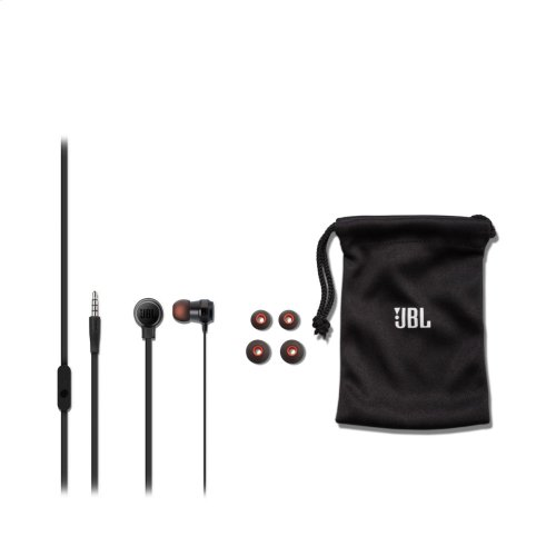 JBL T280A In-ear headphones with high performance drivers
