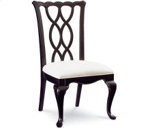 Tate Street Side Chair (Black Cherry)