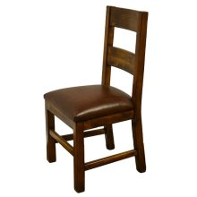 Side Chair W/Leather Seat