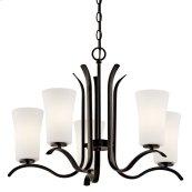 Armida 5 Light Chandelier with LED Bulbs Olde Bronze®