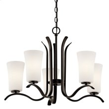 Armida 5 Light Chandelier with LED Bulbs Olde Bronze®