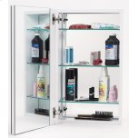 Alno IncMirror Cabinet MC21244 - Stainless Steel