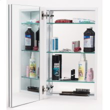Mirror Cabinet MC21244 - Stainless Steel