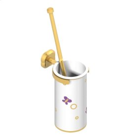 Wall Mounted Wc Brush and Porcelain Holder