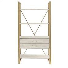 Oasis-Harwell Bookcase in Oyster