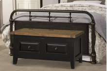 Tuscan Retreat® Blanket Box - Black