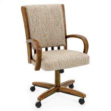 Chair Base: Wide (chestnut)