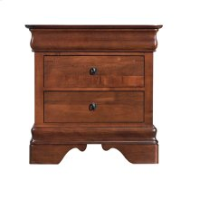 Chateau Royale Three Drawer Nightstand