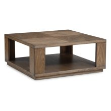 Maximus Square Cocktail Table with Casters