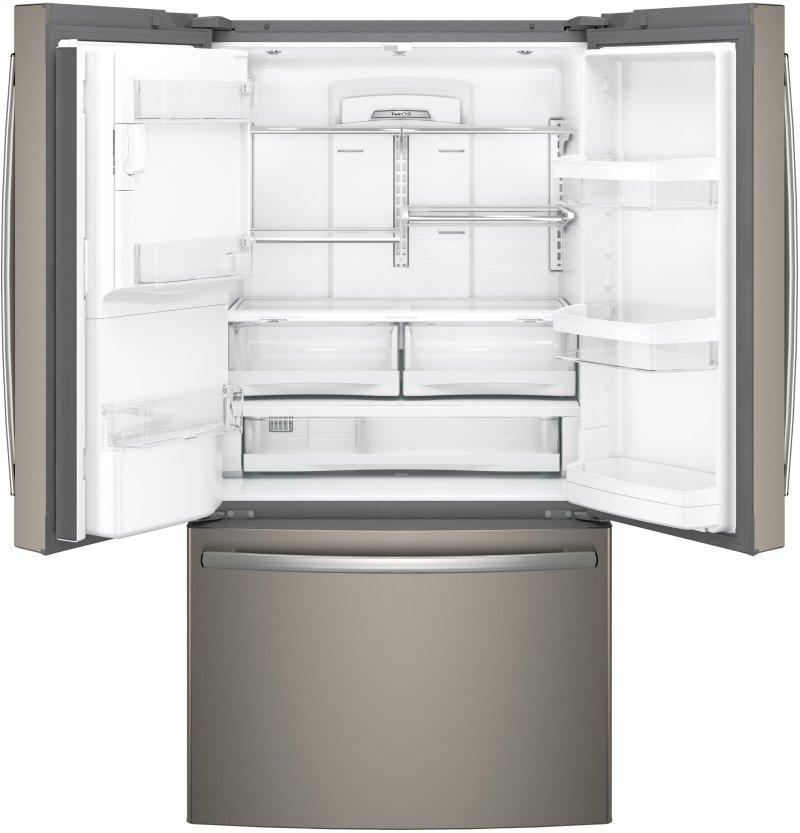 GE® ENERGY STAR® 27 8 Cu  Ft  French-Door Refrigerator