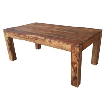 Idris Coffee Table in Dark Sheesham