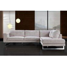 Divani Casa Milano - Modern Fabric Sectional Sofa