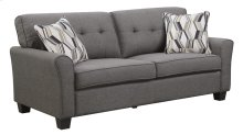 Clarkson - Sofa Espresso W/2 Accent Pillows