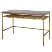 Walter KD Desk, Dark Brown Product Image